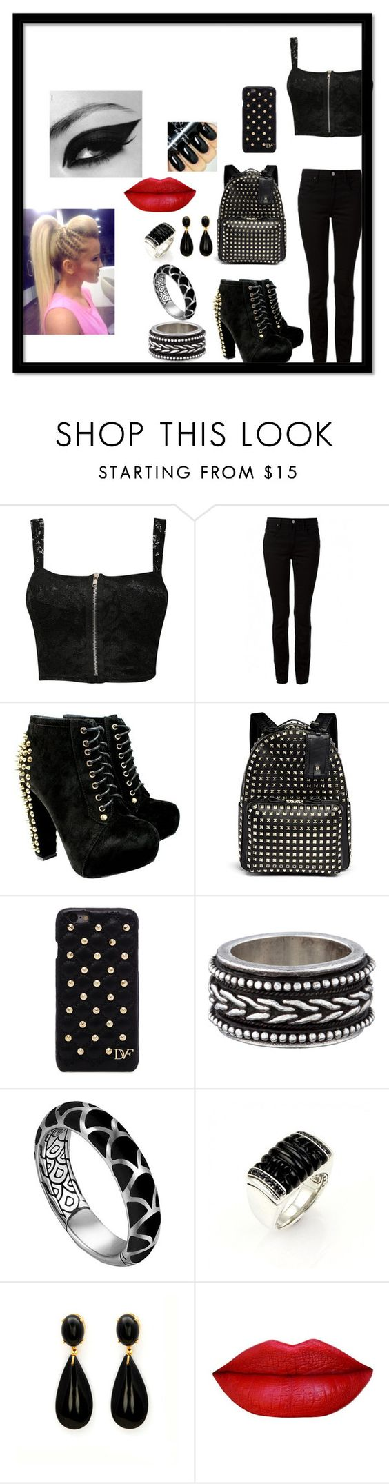 """AMAZING!!!"" by vampire22 ❤ liked on Polyvore featuring beauty, Pilot, T By Alexander Wang, Valentino, Diane Von Furstenberg and John Hardy"