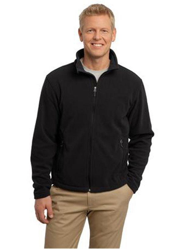 Port Authority Mens Fleece warm-up jacket scrubsandbeyond jacket