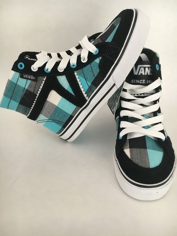 nib! vans corrie high-top skate shoes - small girls sizes 10.5 11 11.5 from $28.99