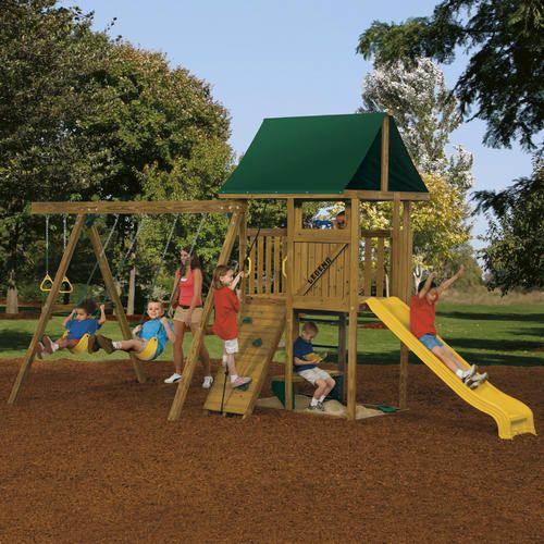 Legend Starter At Menards Playset Outdoor Swing Set Playground Equipment