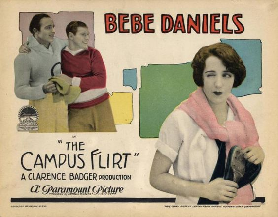 The Campus Flirt (1926) Bebe Daniels: