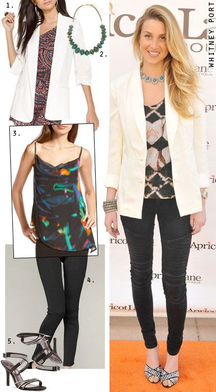 Dress by the Number: Whitney Port