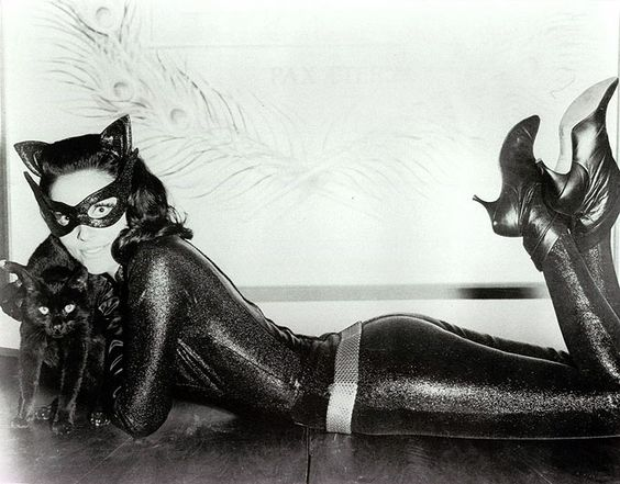 Catwoman Eartha Kitt Julie Newmar Pinterest • The worl...