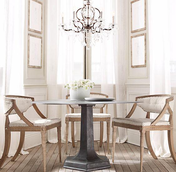 Swedish Demi Lune Chair Fabric Arm Amp Side Chairs