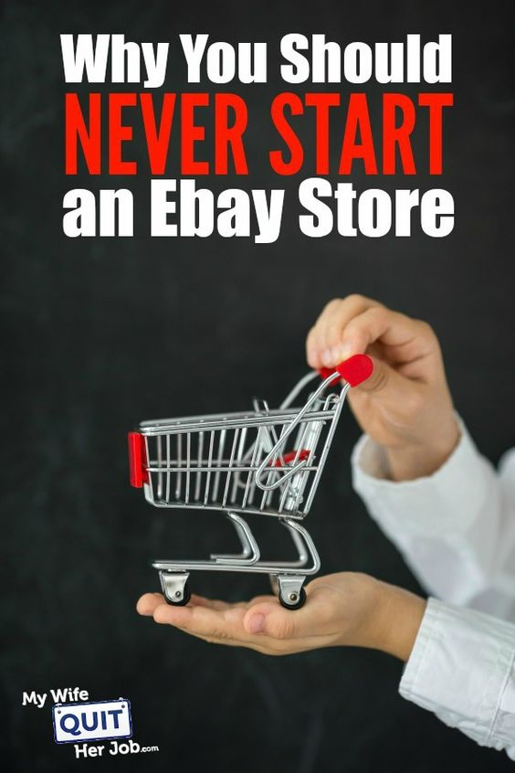 Why You Should Never Start an Ebay Store    If you are going to take your online store seriously, you need to register your own domain and implement your own website. Many people who don't consider themselves tech saavy often question their own abilities and end up relying on 3rd party sites such as Ebay, Yahoo etc. to implement their website store for them.  Let me tell you why that's a bad idea