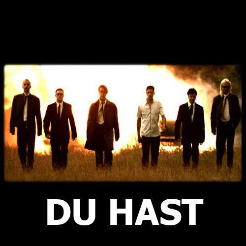 Rammstein – Du hast (single cover art)