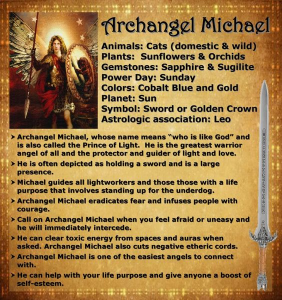 archangel Michael please protect me