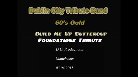 Build Me Up Buttercup Dublin City Tribute Band