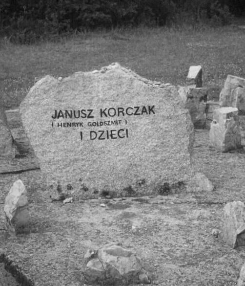 his memorial at Treblinka Janusz Korczak http://www.HolocaustResearchProject.org