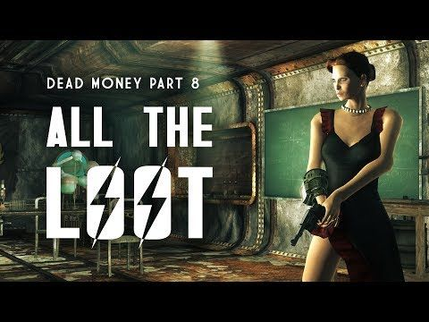 Dead Money Part 8 All The Loot Gear Achievements Challenges Perks More Fallout New Vegas Youtube Fallout New Vegas Vegas Youtube Fallout