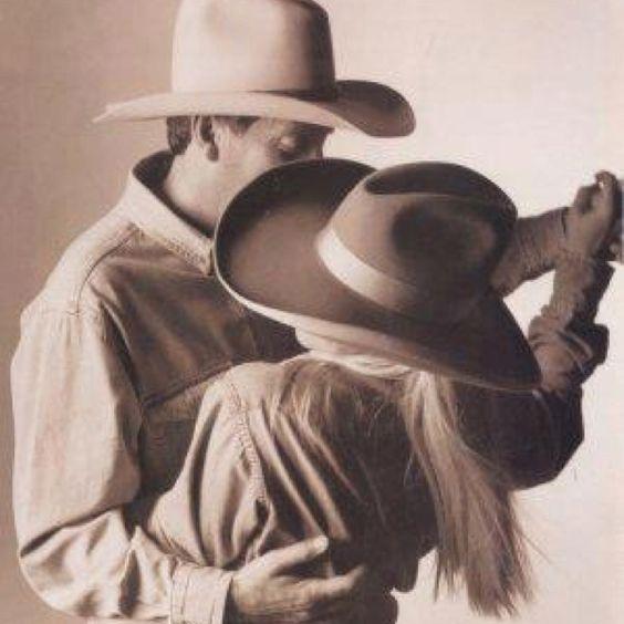 Cowboy dancing.