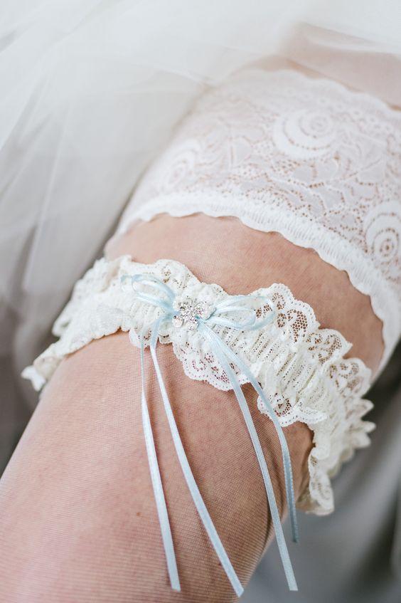 Emmerling Strumpfband Ivory Creme | Brautmoden Bösckens