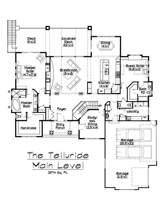 Perfect Retirement House Plan House Plans