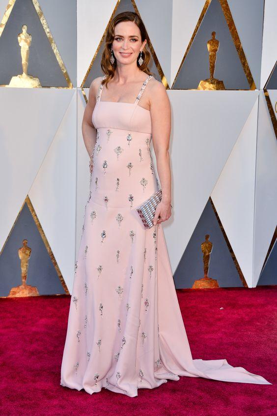 Emily Blunt wearing Prada | Oscars Ceremony | February 2016