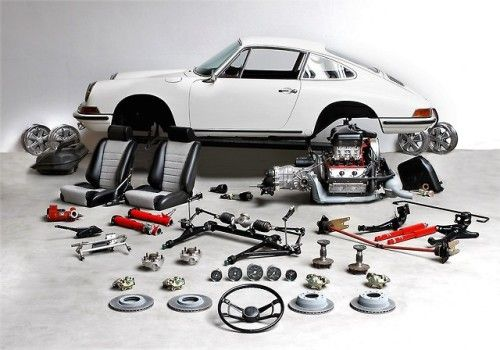 Porsche 911 Carrera Construction PostCard 1st On  Car Poster Own It!
