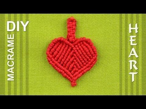 makrame heart