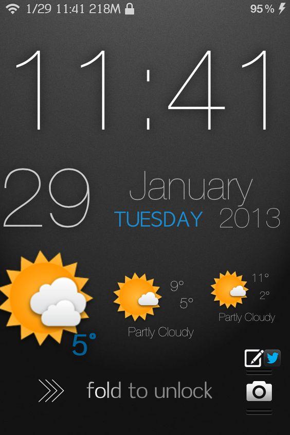 My iPhone4S LockScreen