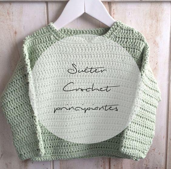 S L O A N E   S T R E E T: Suéter de niño a crochet con algodón DROPS YOU