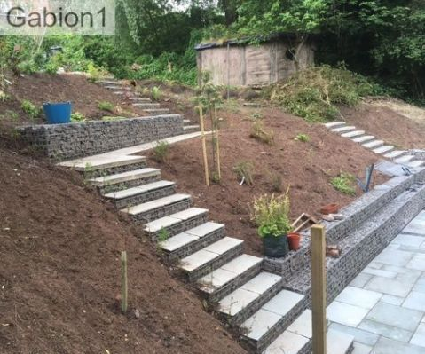 Backyard Kids Play Area Ideas The Steep Gradient Of This Double Bay Garden Rendered It Inaccessible Sloped Backyard Sloped Garden Small Backyard Landscaping