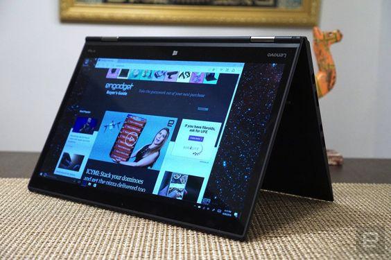 Lenovo's Thinkpad X1 Yoga with OLED screen