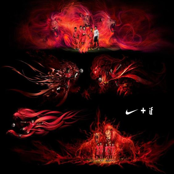 Nike lions | wallpaper | Pinterest | Lion and Nike
