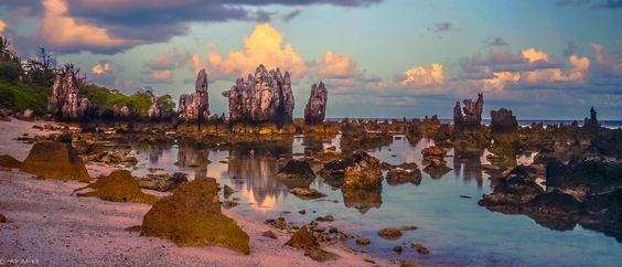 Reflections in the Sunset | Nauru | Flickr - Photo Sharing!