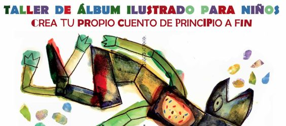 Taller de Álbum ilustrado para niñxs en La Vorágine