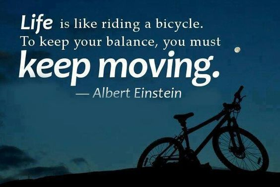 Keep moving...