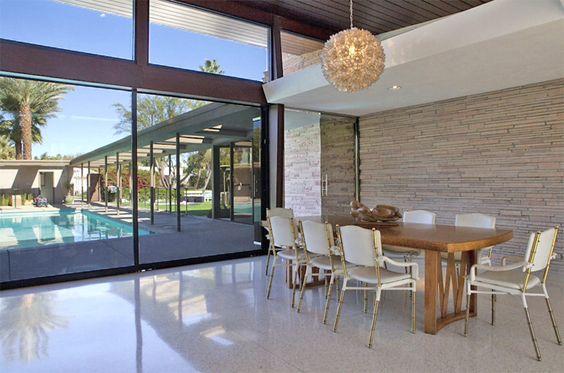 Frank Sinatra's home- Palm Springs: