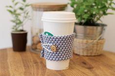 Tuto: un manchon en tissu pour votre gobelet de café 16
