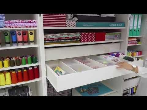 Meuble De Rangement Pour La Couture Cubo Sew Master Par Rmf Youtube