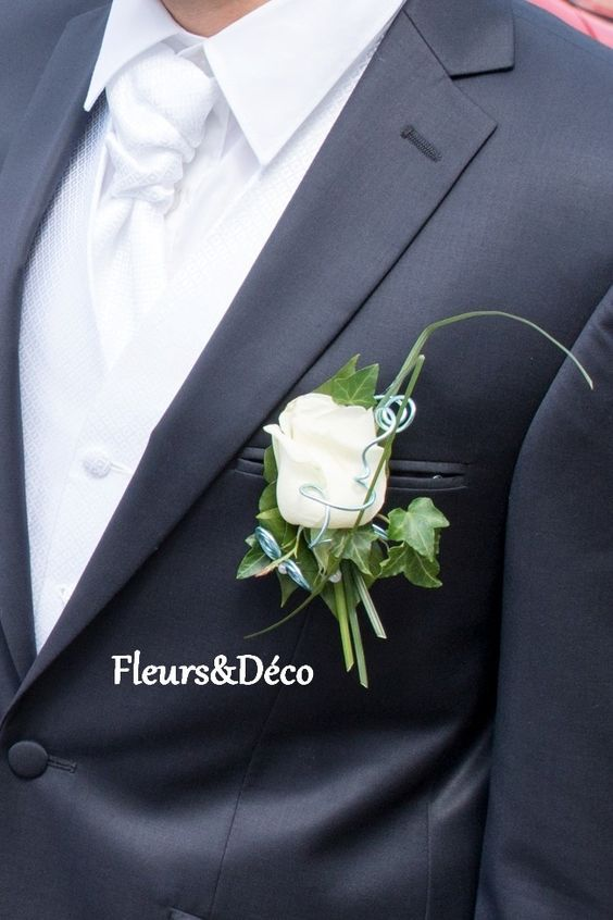 Mariage centre and bouquets on pinterest for Bouquet de fleurs pour un homme