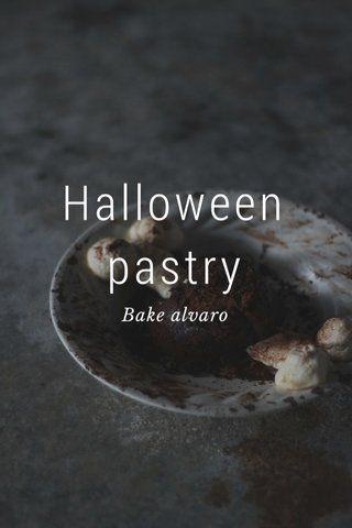 Halloween pastry Bake alvaro