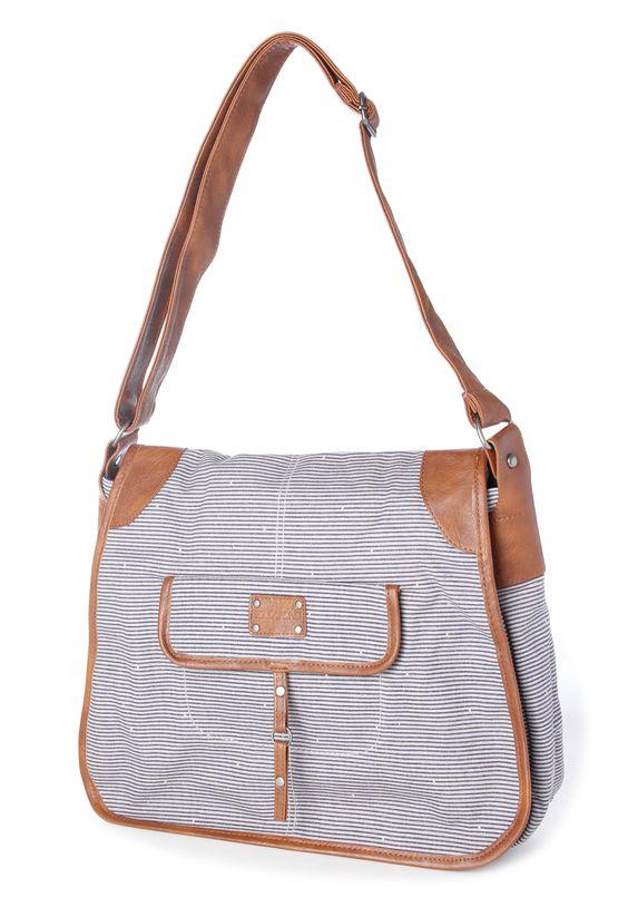 Billabong, sportliche Tasche aus Canvas und Leder für den Sommer.