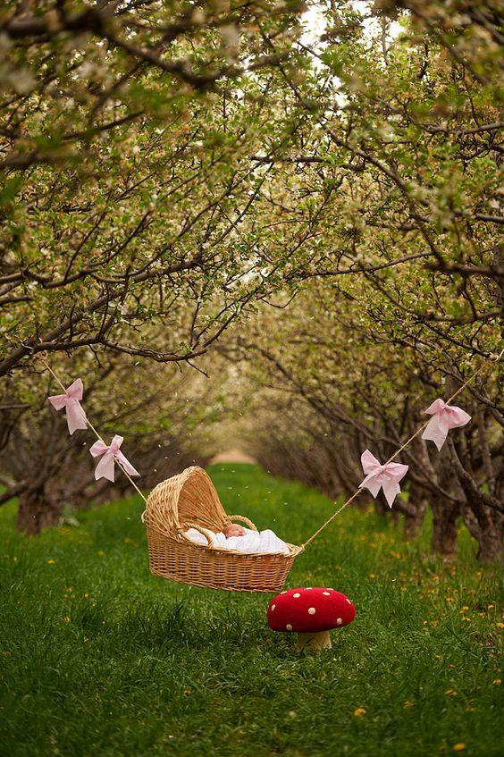 spring baby photos