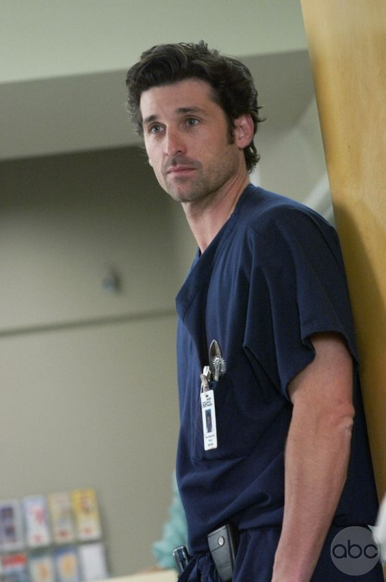 GREY'S ANATOMY:  Patrick Dempsey as Derek Shepherd