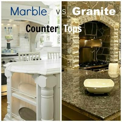 Kitchen Countertop Materials Comparison: QUESTION: I'm in the process of making the decision on kitchen countertops. I love the look of marble, but I'm worried about the maintenance. We