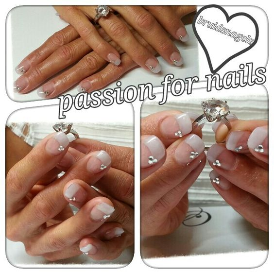 #nails #acryl #white