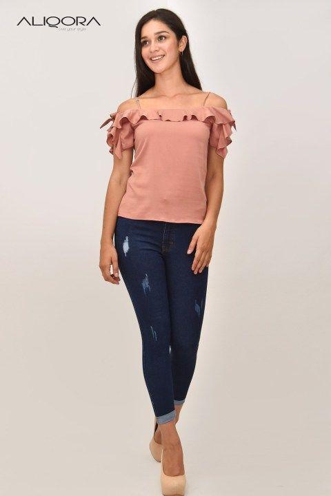 Catalogo De Blusas De Moda Para Damas En Gamarra Blusas De Moda Moda Blusas Juveniles Moda