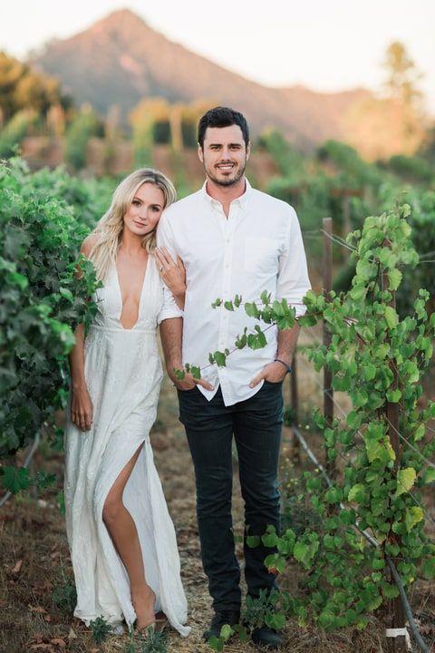 Lauren Bushnell and Ben Higgins engagement photos. Lauren in The Jetset Diaries Monta Vista Maxi Dress.: