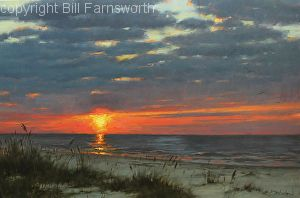 When all is said and done by Bill Farnsworth Oil ~ 24 x 36