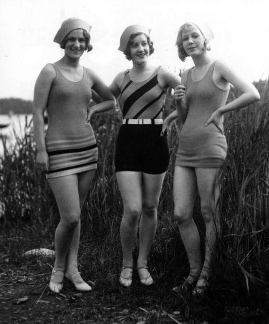 Swimwear, 1930, Sweden.