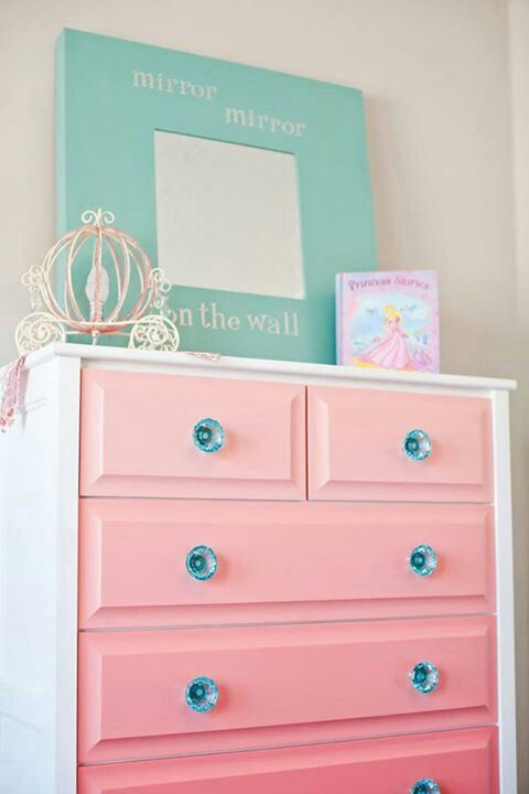 fascinating and cute kids desks ikea with purple paint | 15 Fun Girl's Room Ideas | The mirror, Girls and Girly