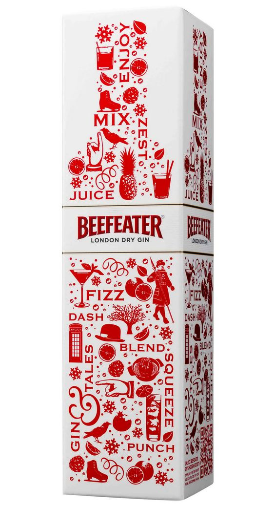 Packaging for Beefeater Gin