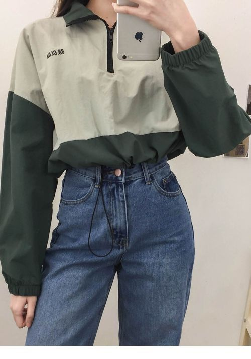 Jacket Retro Jeans Chicladies Uk Vintage Outfits Classy Retro Outfits Aesthetic Clothes