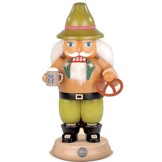 """Nussknacker aus dem Erzgebirge """"Bayer auf dem Oktoberfest""""  Hersteller: ( Müller )  Gewicht: 0.40 Kilogramm  Preis: €74,00 (inkl. 19 % MwSt.)  Preis: €62.18 (Tax Free)"""