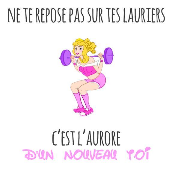 On reste motivé(e) !! #disney #fitness #musculation #sport #traindirty…