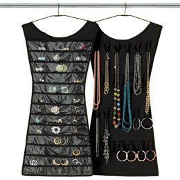 Little Black Dress Hanging Jewelry Organizer by Umbra®   So loving this.