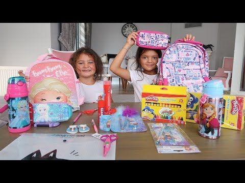 Elif Oyku Ve Masal Okul Alisverisinde Kids Back To School Shopping 2018 Funny Kids Videos Youtube Entertainment Okul Shopping