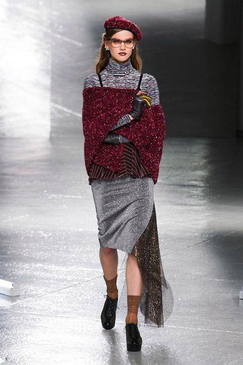 MBFW: Knitting, lantejoulas e 'Star Wars' para o Outono-Inverno 2014/2015 por Rodarte